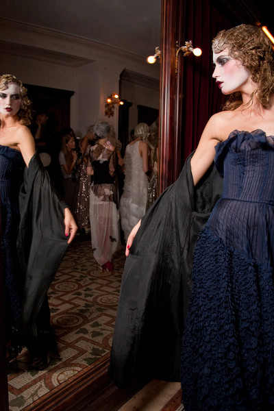 John Galliano at Paris Spring 2011 (Backstage)