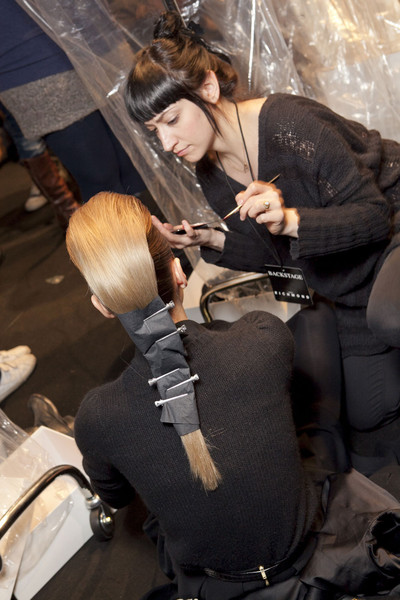 John Richmond at Milan Fall 2012 (Backstage)