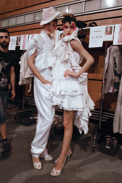 Jose Castro at Paris Spring 2008 (Backstage)
