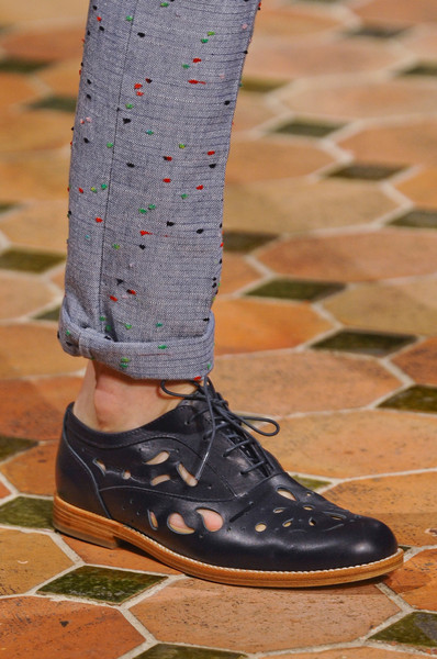 Julien David at Paris Spring 2013 (Details)