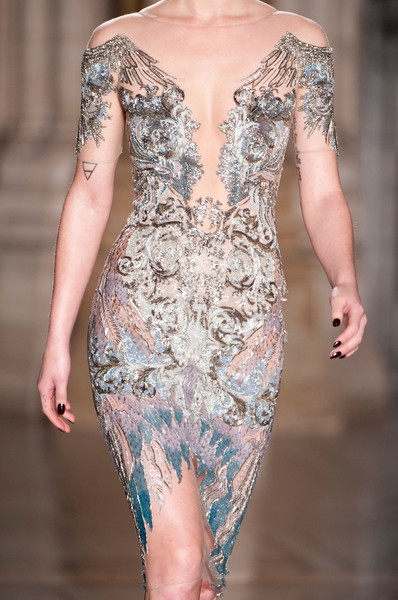 Julien Macdonald at London Fall 2014 (Details)
