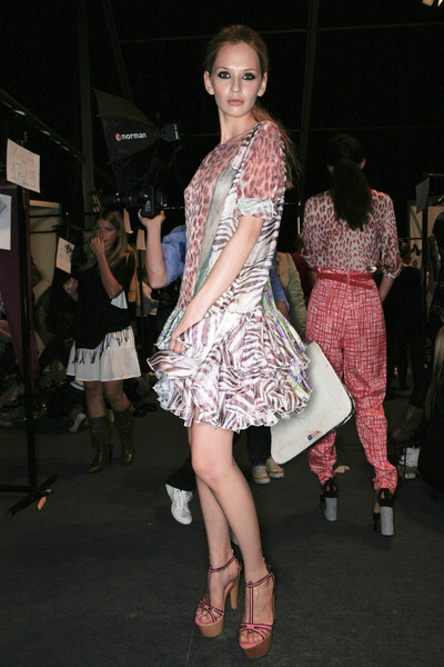 Just Cavalli at Milan Spring 2009 (Backstage)