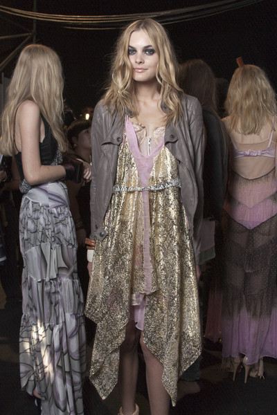 Just Cavalli at Milan Spring 2010 (Backstage)
