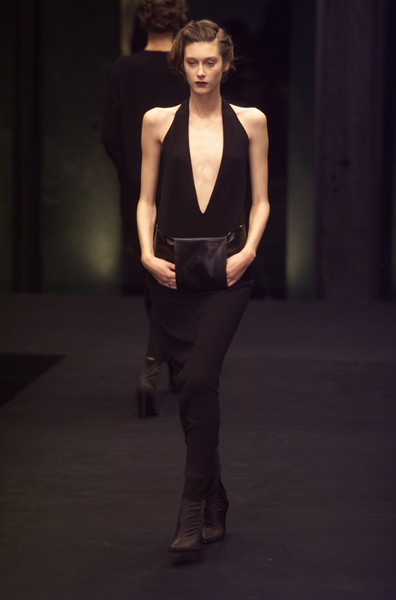 Krizia at Milan Fall 2001