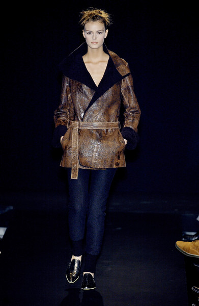 Krizia at Milan Fall 2003