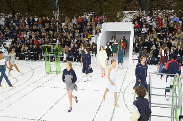 Lacoste at Paris Spring 2018