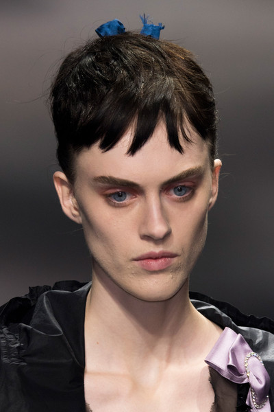 Lanvin at Paris Spring 2016 (Details) [painting,hair,face,hairstyle,eyebrow,forehead,fashion,head,chin,beauty,quiff,head,fashion,beauty,model,haute couture,language,forehead,lanvin,paris fashion week,eric christian olsen,barcelona,painting,model,haute couture,fashion,beauty,spanish language]
