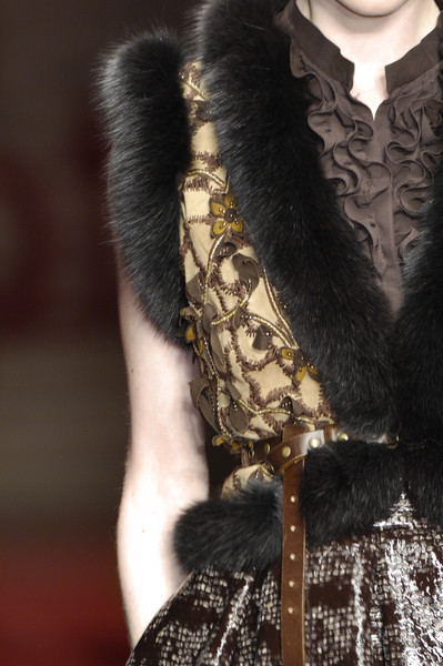 Laura Biagiotti at Milan Fall 2008 (Details)