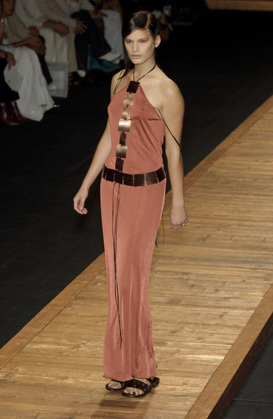 Laura Biagiotti at Milan Spring 2002