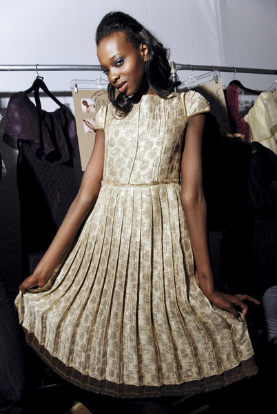 Lela Rose at New York Fall 2008 (Backstage)