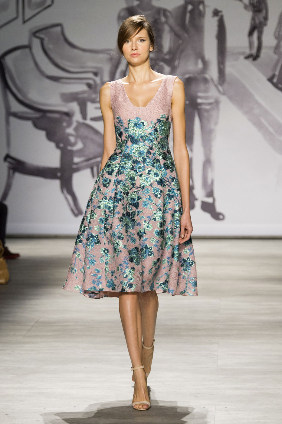 Lela Rose At New York Fashion Week Spring 2015 Livingly