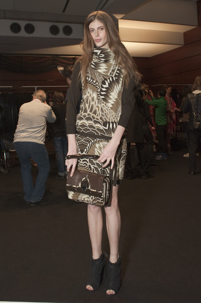 Leonard at Paris Fall 2010 (Backstage)