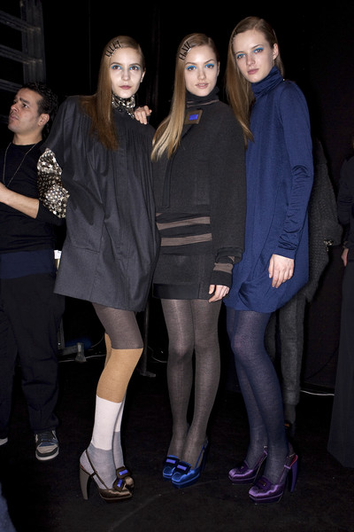 Les Copains at Milan Fall 2009 (Backstage)