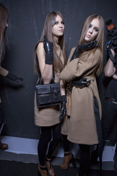 Les Copains at Milan Fall 2010 (Backstage)