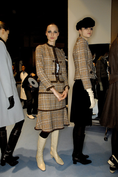 Lorenzo Riva at Milan Fall 2007 (Backstage)