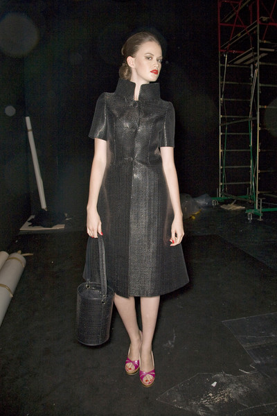 Lorenzo Riva at Milan Spring 2009 (Backstage)