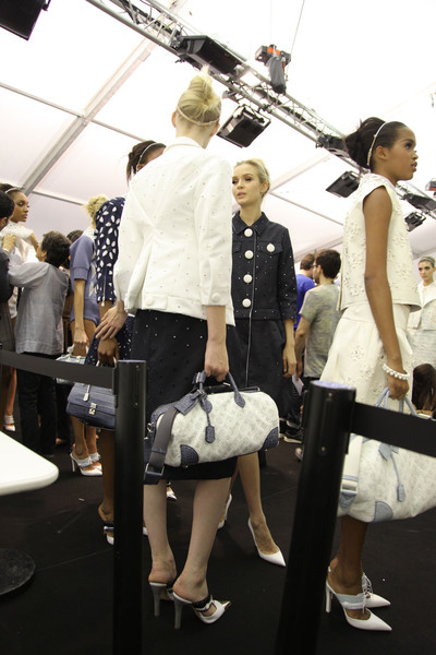 Louis Vuitton at Paris Spring 2012 (Backstage)