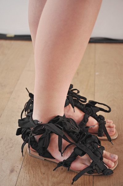 Louise Gray at London Spring 2010 (Details)