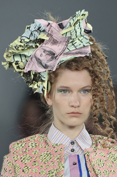 Louise Gray at London Spring 2012 (Details)