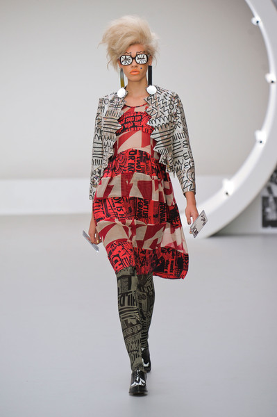 Louise Gray at London Spring 2013