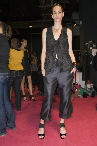 Luciano Soprani at Milan Spring 2009 (Backstage)