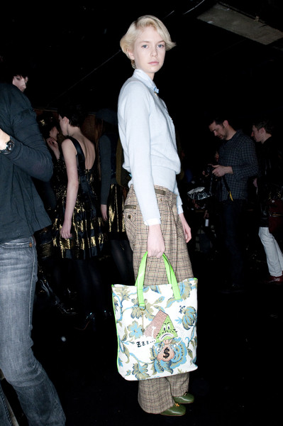 Luella at London Fall 2009 (Backstage)