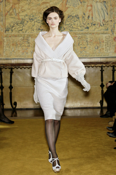 Luisa Beccaria at Milan Fall 2009