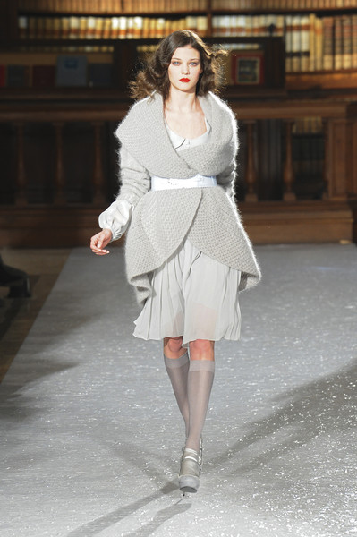 Luisa Beccaria at Milan Fall 2010
