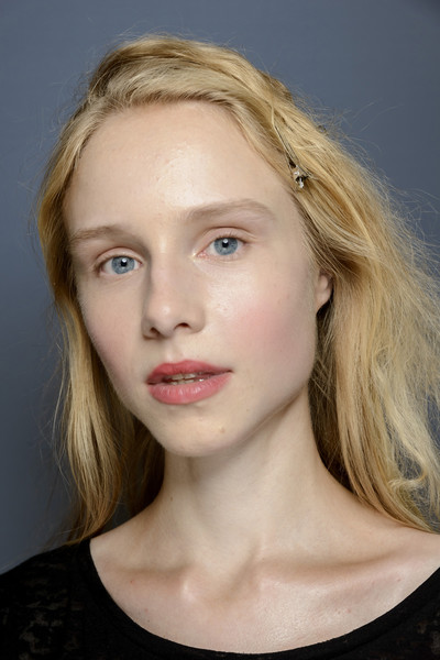 Luisa Beccaria at Milan Spring 2019 (Backstage) [hair,face,lip,eyebrow,blond,hairstyle,chin,cheek,beauty,forehead,blond,supermodel,hair,forehead,brown hair,fashion,hairstyle,model,lips,milan fashion week,hair m,layered hair,fashion,brown hair,long hair,model,supermodel,forehead,lips,blond]