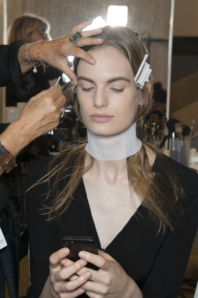 Maison Martin Margiela at Paris Spring 2014 (Backstage)