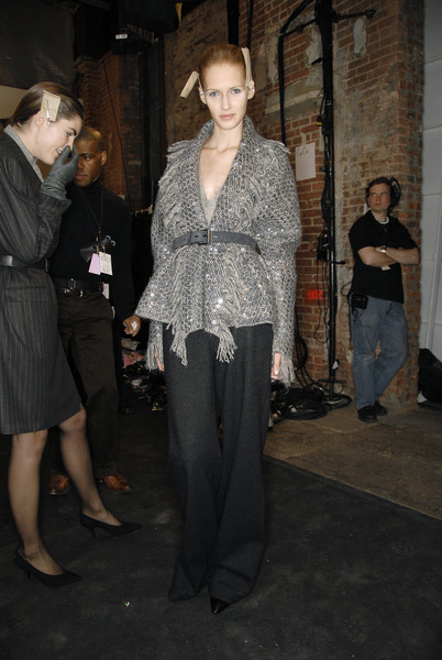 Malo at New York Fall 2007 (Backstage)