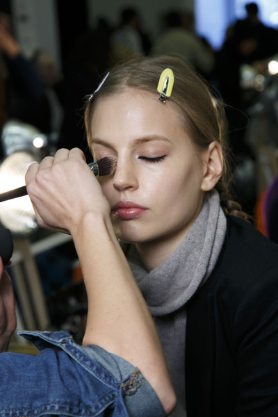 Marc by Marc Jacobs at New York Fall 2014 (Backstage) [hair,face,eyebrow,lip,beauty,hairstyle,fashion,cheek,chin,forehead,socialite,marc by marc jacobs,hair,hair,haute couture,hairstyle,beauty,face,eyebrow,new york fashion week,hair m,haute couture,long hair,socialite,hair,beauty.m,02pd - circolo del partito democratico di milano]