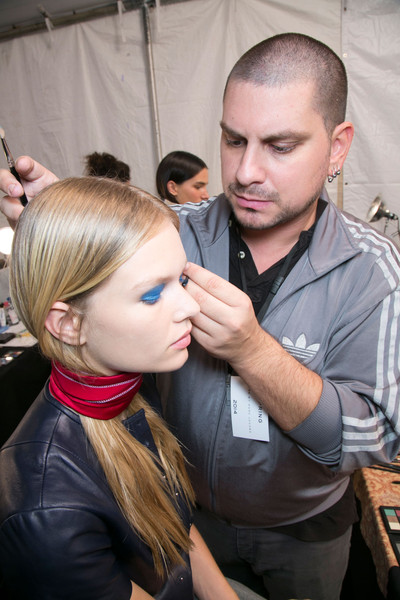 Marc by Marc Jacobs at New York Spring 2014 (Backstage) [hair,hairstyle,beauty,fashion,blond,buzz cut,makeup artist,hair coloring,long hair,hairdresser,blond,socialite,marc by marc jacobs,hairdresser,hair,hair,fashion,hair coloring,color,new york fashion week,blond,hair m,fashion,hair coloring,long hair,socialite,hair,color,beauty.m,02pd - circolo del partito democratico di milano]
