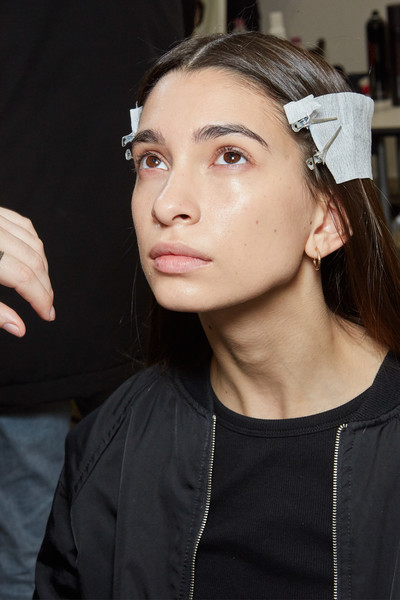 Marco Rambaldi at Milan Fall 2020 (Backstage)