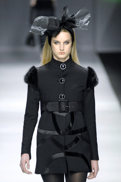 Maria Teresa Mazzoni at Milan Fall 2007
