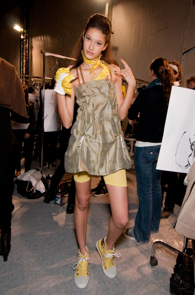 Marithé + François Girbaud at Paris Spring 2011 (Backstage)