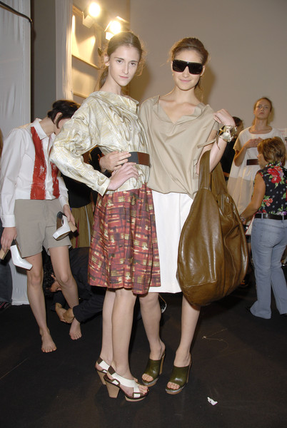 Marni at Milan Spring 2007 (Backstage)