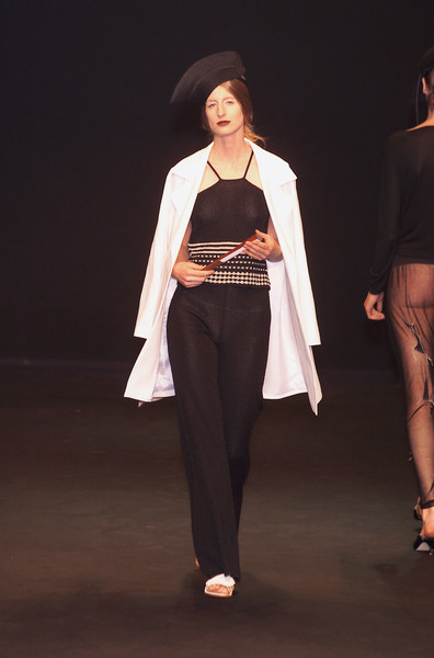 Martino Midali at Milan Spring 2001