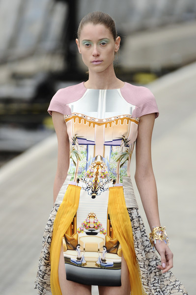 Mary Katrantzou at London Spring 2011