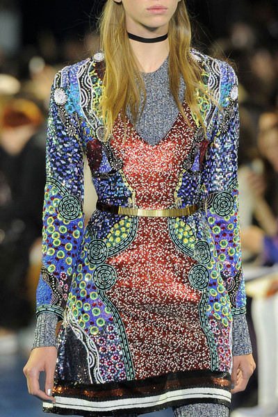 Mary Katrantzou at London Spring 2016 (Details)