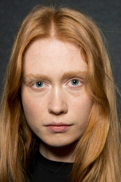 Maryling at Milan Fall 2019 (Backstage) [face,hair,eyebrow,blond,hairstyle,chin,lip,cheek,nose,forehead,hair,maryling,hair,brown hair,forehead,hairstyle,hair coloring,eyebrow,end,milan fashion week,layered hair,hair coloring,maryling,brown hair,portrait -m-,hair,forehead,long hair,end.,surfer hair]