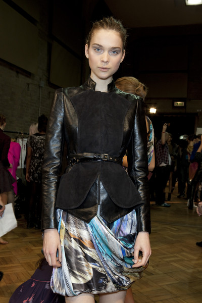 Matthew Williamson at London Fall 2010 (Backstage)