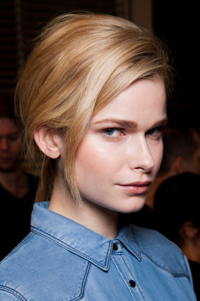Matthew Williamson at London Fall 2012 (Backstage)