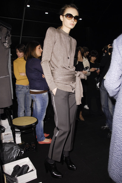 MaxMara at Milan Fall 2008 (Backstage)