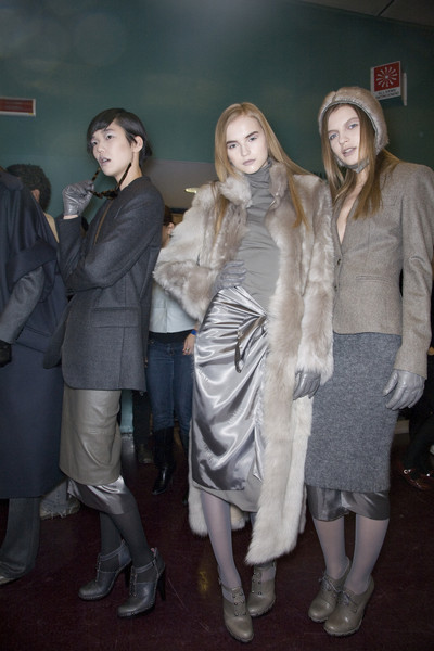 MaxMara at Milan Fall 2009 (Backstage)