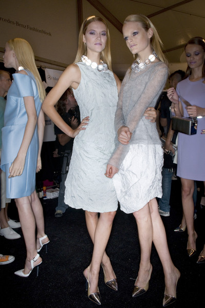 Michael Kors at New York Spring 2010 (Backstage)