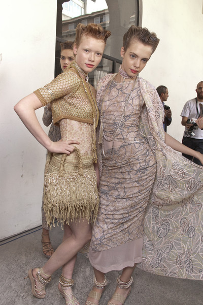 Missoni at Milan Spring 2010 (Backstage)