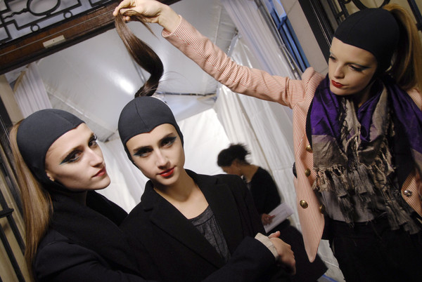 Miu Miu at Paris Fall 2008 (Backstage)