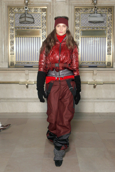 Moncler Grenoble at New York Fall 2011