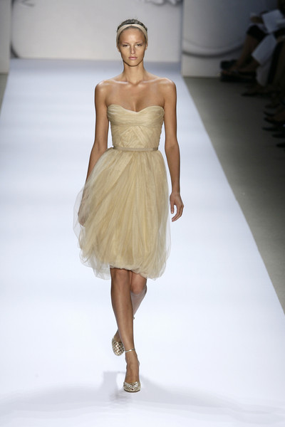 Monique Lhuillier at New York Spring 2008